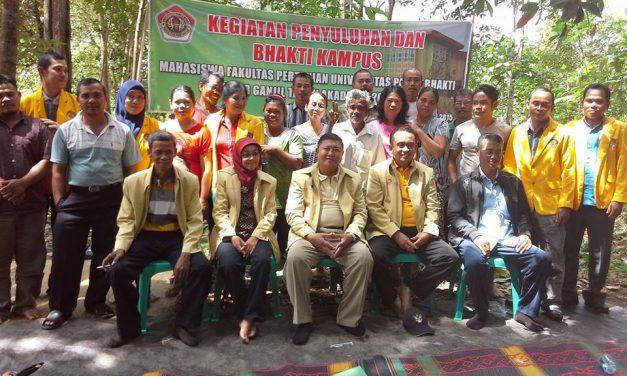 Dosen dan Mahasiswa Fakultas Pertanian UPB Melakukan Pengabdian Kepada Masyarakat Melalui Kegiatan Penyuluhan