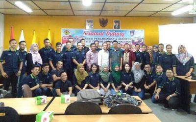 KUNJUNGAN MAHASISWA FAKULTI PERLADANGAN UNIVERSITI MARA MALAYSIA 12 MEI 2017