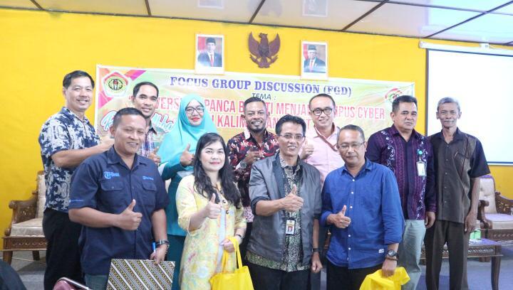 FGD Persiapan UPB sebagai Kampus Cyber di Kalimantan Barat  Di Selenggarakan Oleh Ikatan Alumni FP UPB